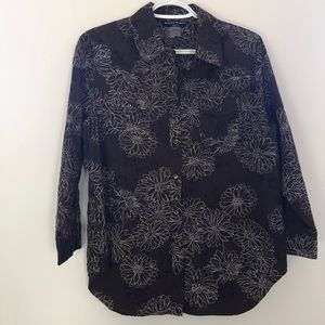 Bianca Nygard Vintage Textured Shirt